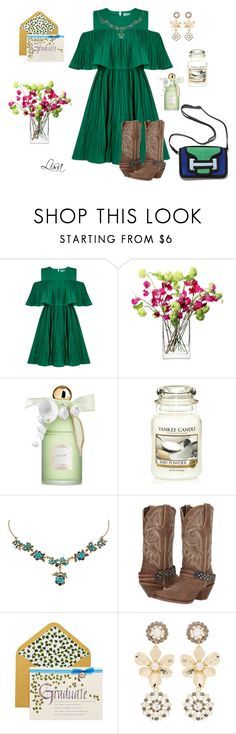 """""""Open House"""" by coolmommy44 ❤ liked on Polyvore featuring Jovonna, LSA International, Guerlain, Michal Negrin, Durango, Papyrus and Erdem"""
