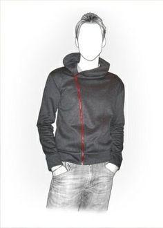 6131 PDF patron de couture pour écolo, personnalisées pour la taille faite sur commande, hommes vêtements