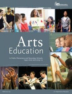 On Monday, the National Center for Education Statistics (NCES), part of the U.S. Department of Education, released the findings of the first nationwide arts survey in a decade that comprehensively documents the state of arts education in U.S. public schools.
