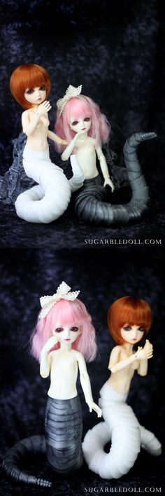 SUGARBLE black or white Naga tail  2