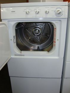 Depiction of Perfect Used Apartment Size Washer and Dryer