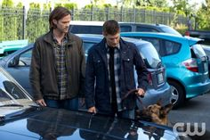 """Supernatural -- """"Dog Dean Afternoon"""" -- Image SN906a_1639 -- Pictured (L-R): Jared Padalecki as Sam and Jensen Ackles as Dean -- Credit: Jack Rowand/The CW --  © 2013 The CW Network, LLC. All Rights Reserved"""