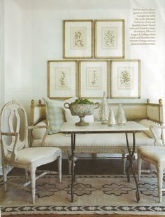 I adore the Gustavian design style. The neutral color palette and clean geometry of Scandinavian design makes it work seamlessly with modern accents as well.