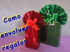 YouTube Videos, Youtube, Gifts, Paper, Wrapping, Gift Boxes, Appliques, The Originals, Tutorials