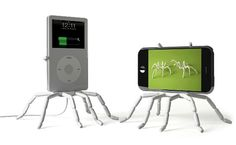Spider Podium by breffo: Flexible stand to hang or prop up your iPhone. $16.61 #iPhone_Stand #Spider_Podium #breffo