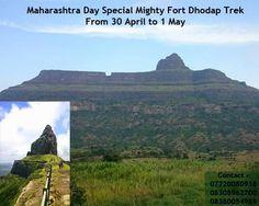 Maharashtra Day Special Mighty Fort Dhodap Trek !!