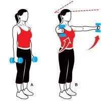 Sculpt your arms with these three exercises.  Do them while you are watching tv