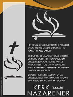 Uitleg van het nieuwe Logo van de Kerk van de Nazarener Logos, A Logo, Legos