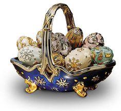 Fabergé: связь времен сквозь эпоху Basket of Eggs