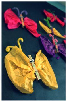 Spring craft, butterflies