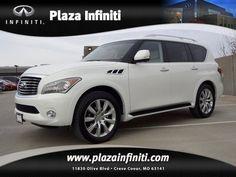 New 2013 Infiniti QX56  Love this car!!