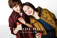 The New Burberry Children Campaign Is Too Cute! | CocoPerez.com