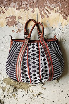 Beaded Geometry Bag - Anthropologie.com.  Love it, though I'm never sure what to wear when carrying such a busy bag...
