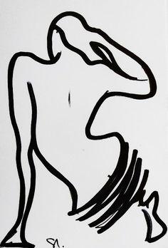 Drawing by Daniel Santisteban