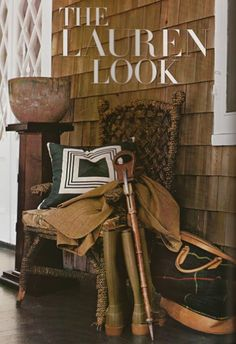 Lucky Lakehouse: Friday Finds -- The Ralph Lauren Home