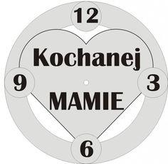 Zegar na Dzień Matki - Prezent Jedyny Taki!