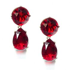 Jewellery & Gifts from Lola Rose, Dogeared, Daisy London, Satya, Bombay Duck and many more. Ruby Crystal, Crystal Earrings, Drop Earrings, Daisy London, Lola Rose, Red Carpet Ready, Kenneth Jay Lane, Jewelry Gifts, Jewellery