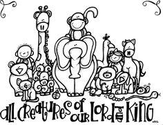 Lesson 12 - Animals    Melonheadz LDS illustrating