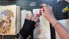 Art Journal Pages, Junk Journal, Belly Bands, Arm Warmers, Mixed Media, Challenges, Projects, Youtube, Crafts