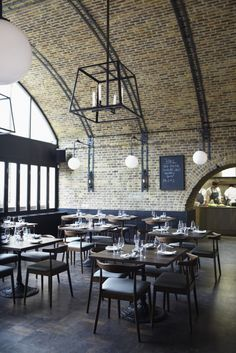 Beagle Restaurant: Hidden under a railway arch is this trendy Shoreditch restaurant, bar and coffee shop. Their dinner menu is great and they serve brunch too.