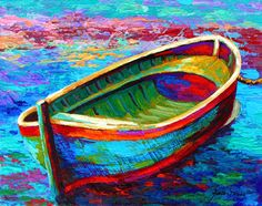 Great Big Canvas Boat I by Marion Rose Painting Print on Gallery Wrapped Canvas Art Oil, Canvas Wall Art, Rose Painting, Art Painting Oil, Horse Oil Painting, Painting, Oil Painting Abstract, Boat Art, Abstract