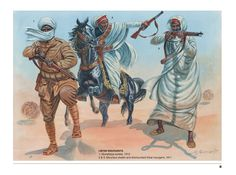 Military Drawings, Italian Army, Historical Art, Ottoman Empire, Military History, Soldiers, Things To Come, African, Armies
