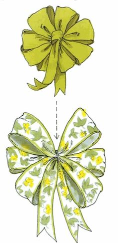Craft blog on how to tie several different types of ribbon bows and for a variety of events.
