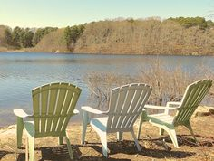87-B - A great spot to just sit and relax.  Rental includes a canoe for touring around the 23 acre pond.
