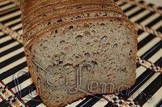 Paine integrala de secara (cu maia) Bread Recipes, Banana Bread, Baking, Cake, Desserts, Food, Diet, Kitchens, Loaf Recipes