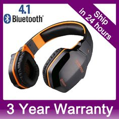 Professional Bluetooth V4.1 Stereo Noise-cancelling NFC Headset Headphone Earphones For iPhone Tablet Laptop Gaming //Price: $54.85 & FREE Shipping //  #gamergirl #gaming #video #game #winning