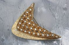 Vintage 1960 Bridal Rhinestone by ButterflyEffectInc on Etsy, $65.00 SOLD