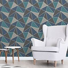 Amazon.co.uk : navy wallpaper Camo Wallpaper, Trellis Wallpaper, Luxury Wallpaper, Wallpaper Roll, Geometric Wallpaper Living Room, Geometric Wallpaper Metallic, Camo Colors, Colours, High Quality Wallpapers