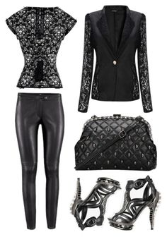 Modern Goth outfit by RebelsMarket on Polyvore featuring modern, ootd, goth, moderngoth and rebelsmarket