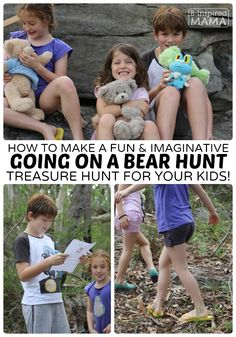A Fun and Imaginative Going on a Bear Hunt Activity for Kids at B-Inspired Mama
