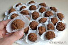 Jaglane trufle czekoladowe
