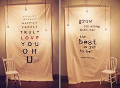 diy photo booth ideas. Or photo scavenger hunt. or easy wall decoration