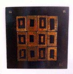 LES KOKESHI DE CAROLE LEVY KEREBEL: Les tableaux en carreaux sigillés