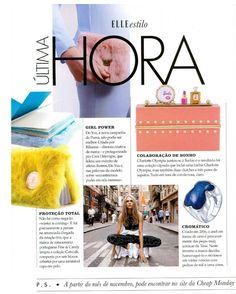 """""""Catwalk Collection"""", a """"last minute"""" suggestion by Elle Portugal, November edition  www.fineandcandy.com"""