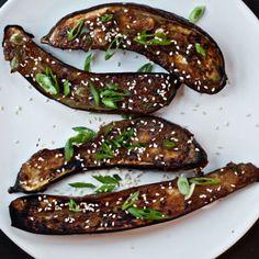 Ginger-Miso-Glazed Eggplant Recipe