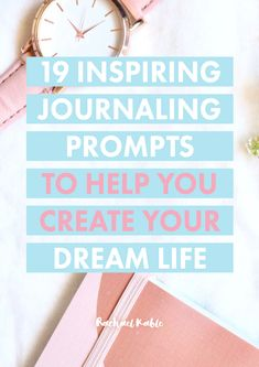 Ready to create your dream life? Discover 19 powerful journaling prompts to help you explore what your ideal day looks like, a fear you'd like to overcome, how you could change one relationship for the better, and so much more! Life Journal, Journal Prompts, Bullet Journal, Feeling Happy, How Are You Feeling, Morning Pages, First Relationship, Manifestation Journal, Good Mental Health