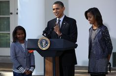Pin for Later: 36 Times Sasha Was the Most Stylish Member of the Obama Family When She Looked Like a Mini Adult in a Gray Blazer
