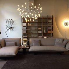 Heracleum by Bertjan Pot and Filigree by Rick Tegelaar via Moooi   www.moooi.com   #interiordesign #interior #design #moooi #decor #livingroom #lighting