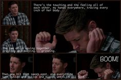 9x08 Rock and a Hard Place (edit by Tiara Peterson) That moment the entire female fandom's ovaries exploded.