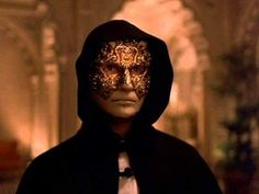 Eyes Wide Shut is a 1999 mystery thriller by legendary American filmmaker Stanley Kubrick, his last film, starring Nicole Kidman and Tom Cruise as Mr. Stanley Kubrick, Sherlock Holmes, Eyes Wide Shut, Le Couple Parfait, Famous Directors, Great Films, Masquerade Party, Masquerade Masks, Venetian Masquerade
