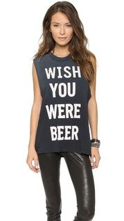 Haute Hippie Drinks Well with Others Muscle Tank | SHOPBOP