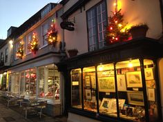About 160 Christmas Trees were installed on buildings in 2014 by the Alresford Pigs Association (a local charity for people not pigs) on behalf od the Chamber of Commerce