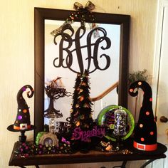 a fun halloween entry display all of the items came from hobby lobby and pier - Pier 1 Halloween
