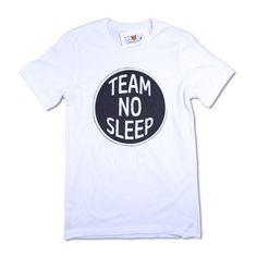 Team No Sleep Unisex T-Shirt - Three Bears Threads