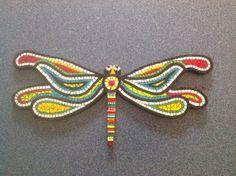 Dragon fly mosaic By Regina Coyle