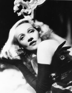 For the lovely German-American actress and screen icon, Marlene Dietrich. Marlene Dietrich, Marylin Monroe, Rita Hayworth, Old Hollywood Glam, Classic Hollywood, Hollywood Stars, George Hurrell, Star Wars, Glamour Photo
